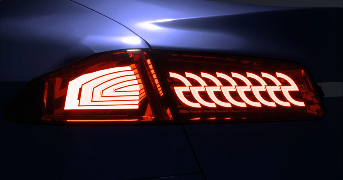 OLD simulation of taillights