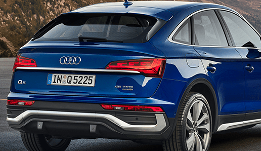 Audi introduces Q5 Sportback, their third model with digital OLED lighting
